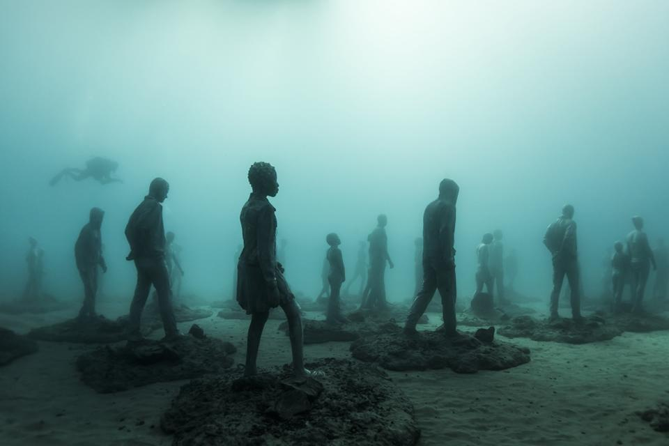 Museo Atlantico_Lanzarote_Rubicon_clean_02634_Jason deCaires Taylor_Sculpture