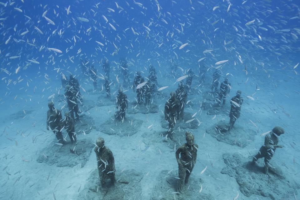 Museo Atlantico_Lanzarote_Rubicon_growth_02940_Jason deCaires Taylor_Sculpture
