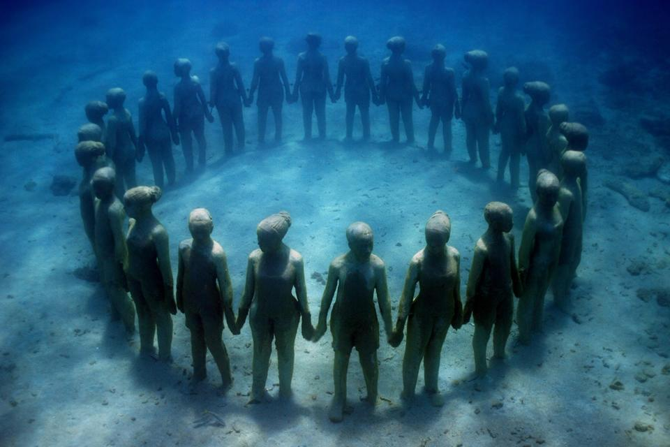 Vicissitudes_Grenada_clean_Jason deCaires Taylor_Sculpture