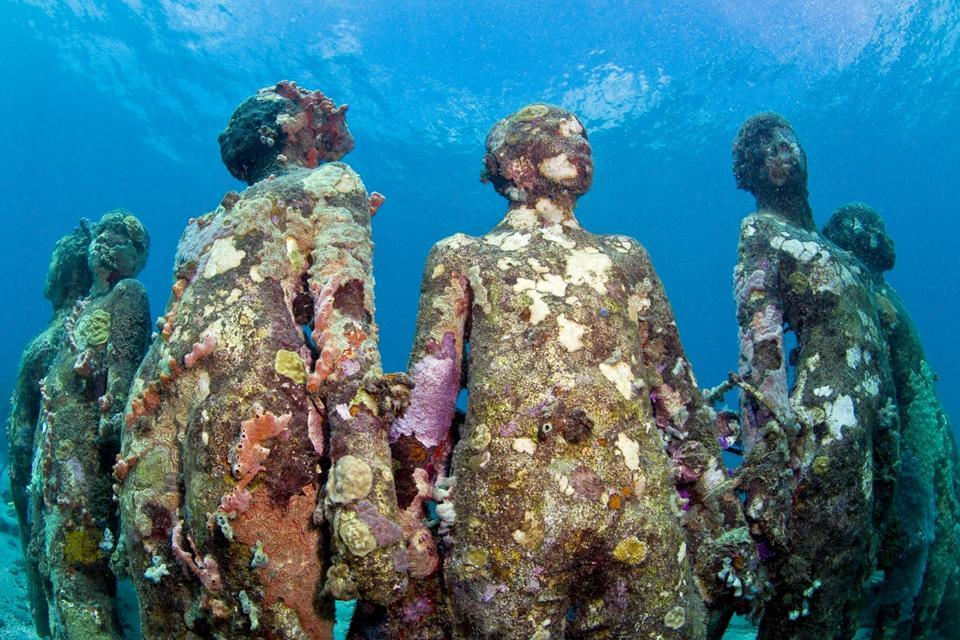 Vicissitudes_Grenada_coral_Jason deCaires Taylor_Sculpture