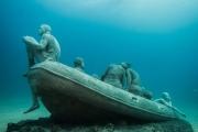 Museo Atlantico, Lanzarote, Lampedusa Jason deCaires Taylor Sculpture