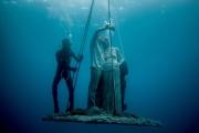 Museo Atlantico, Lanzarote, Selfie Jason deCaires Taylor Sculpture