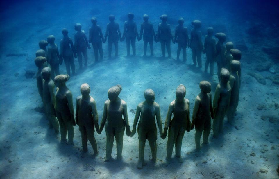 Viccisitudes, Grenada by Jason deCaires Taylor