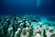 Silent Evolution_Mexico_clean_bubbles_Jason deCaires Taylor_Sculpture