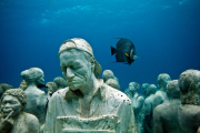 Silent Evolution_Mexico_clean_carpenter_Jason deCaires Taylor_Sculpture