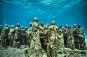 Silent Evolution_Mexico_growth_Jason deCaires Taylor_Sculpture