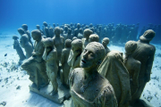 Silent_Evolution_Mexico_clean_woman_Jason deCaires Taylor_Sculpture