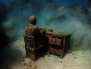 The Lost Correspondent_Grenada_growth_02_Jason deCaires Taylor_Sculpture