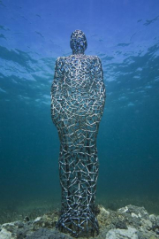 Vein man_Mexico_clean_2098_Jason deCaires Taylor_Sculpture