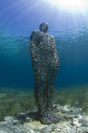 Vein man_Mexico_clean_2620_Jason deCaires Taylor_Sculpture