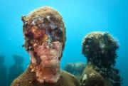 Vicissitudes_Grenada_portrait_coral_02_Jason deCaires Taylor_Sculpture