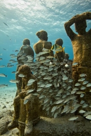 Silent Evolution_Mexico_growth_IMG_4423_Jason deCaires Taylor_Sculpture