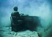 The Lost Correspondent_Grenada_growth_01_Jason deCaires Taylor_Sculpture