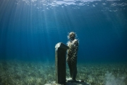 The Speaker_Mexico_growth_Jason deCaires Taylor_Sculpture