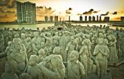 Silent Evolution, Mexico Jason deCaires Taylor Sculpture