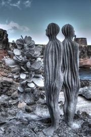 Tonemapped Jason deCaires Taylor Sculpture
