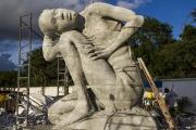 Ocean Atlas, Bahamas Jason deCaires Taylor Sculpture