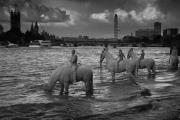 The Rising Tide, London Jason deCaires Taylor Sculpture