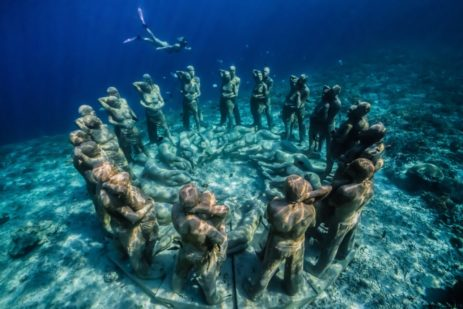Nest, Bali, Indonesia by Jason deCaires Taylor
