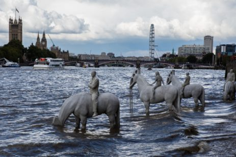 Rising Tide, London by Jason deCaires Taylor